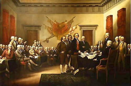 signing declaration of independence