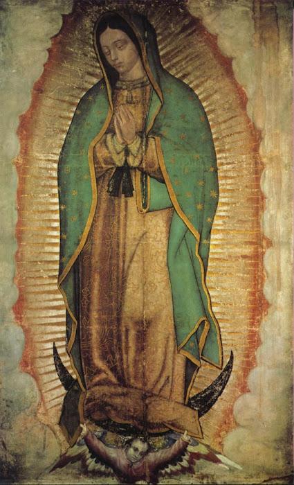La virgen de Guadalupe nos dice: ¿Porqué tienes miedo? ¿Acaso no estoy yo aquí que soy tu Madre?