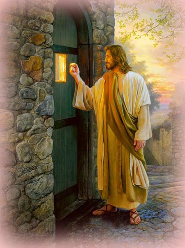 """""""He aquí, Yo estoy a la puerta y llamo..."""