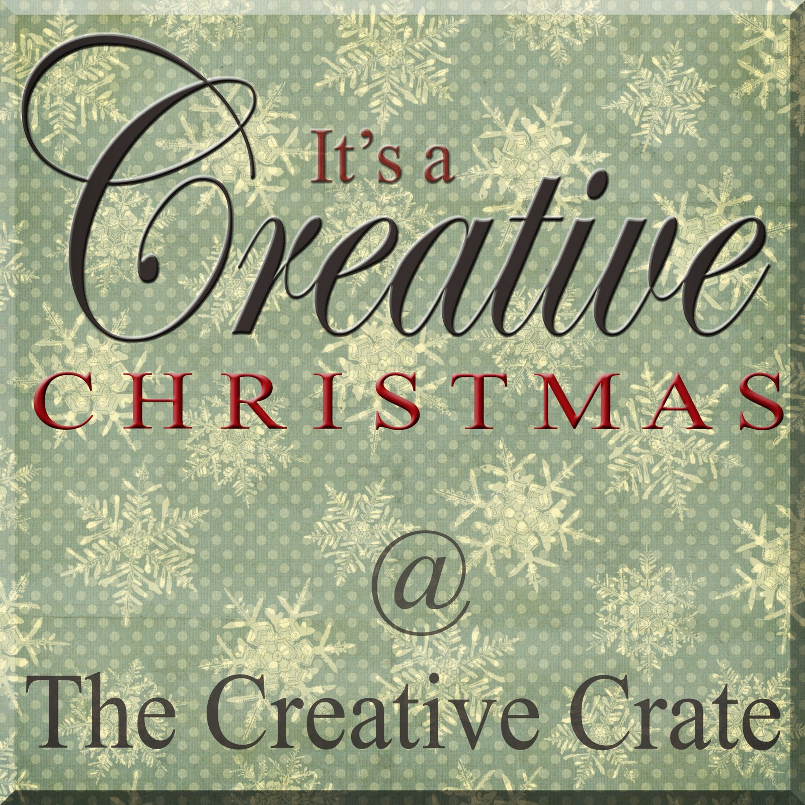 The creative crate it 39 s a creative christmas link up for Creative crates
