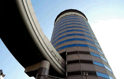 world First Highway through A Building - Japan