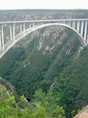highest places for bungee jumping
