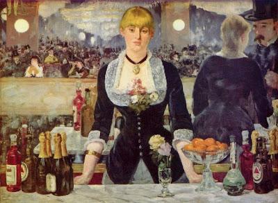 Bar in den Folies-Bergère - Manet
