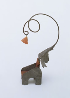Elephant Chair with Lamp