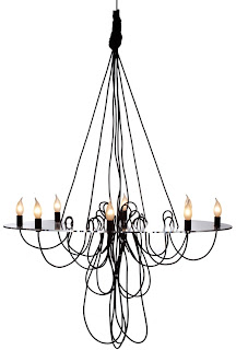 Marvelous Spaghetti Princess chandelier