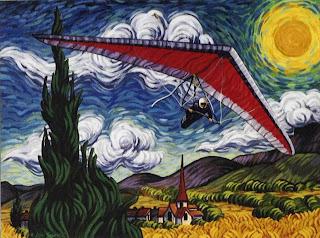 Van Gogh Hang Gliding