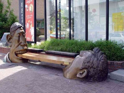 Two Faces Bench