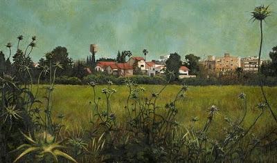 realistic landscape painting