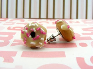 Doughnuts with Sprinkles - Earrings
