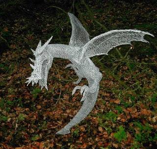 Dragon Wire Sculptures