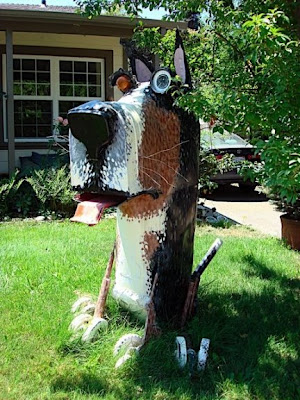 Funny Recycled Art