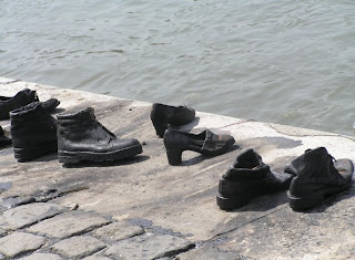 Shoes on the Danube statue