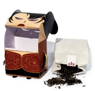 chinese tea box - package design