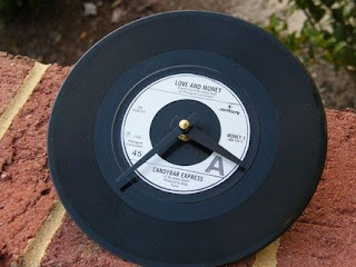 Vinyl Record 45rpm Clock