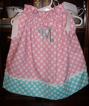 Pink Ta Dot pillowcase dress