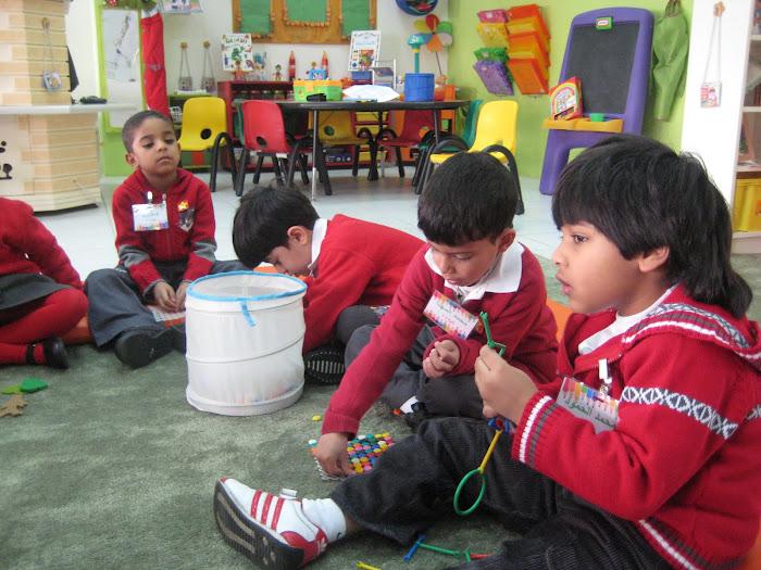 الاطفال في الفصل