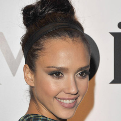hanuman wallpaper_22. jessica alba updo with braid.
