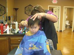 First Haircut...