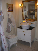 Välkommen att titta in i vårt badrum...