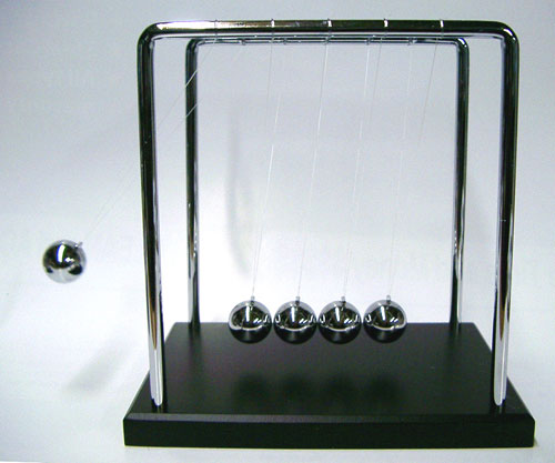 two be continued newtons cradle