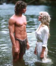 1982 Remake of Tarzan the Ape Man in Sri Lanka starring Bo Derek of  Ten