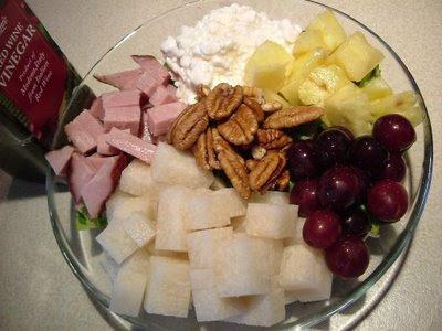 Salad as dinner