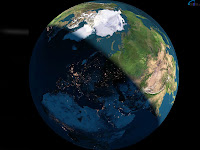 papel de parede planeta terra