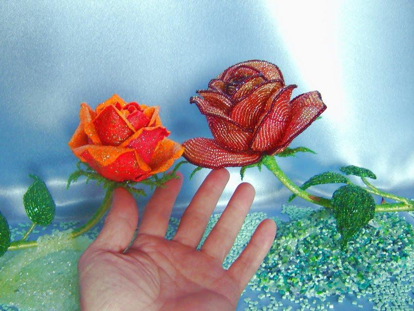 как плести кольца из бисера. воротничок из бисера своими руками. цветок из бисера... лилия из бисера. схемы бисерных...