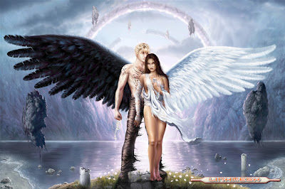 androgino con alas