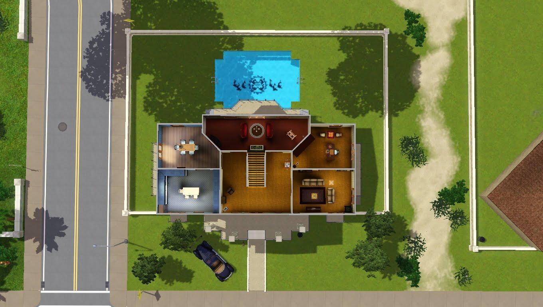 imobiliaria the sims 3 casa classica