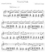 Partituras para pianoarranjadas por David Sidesupdated