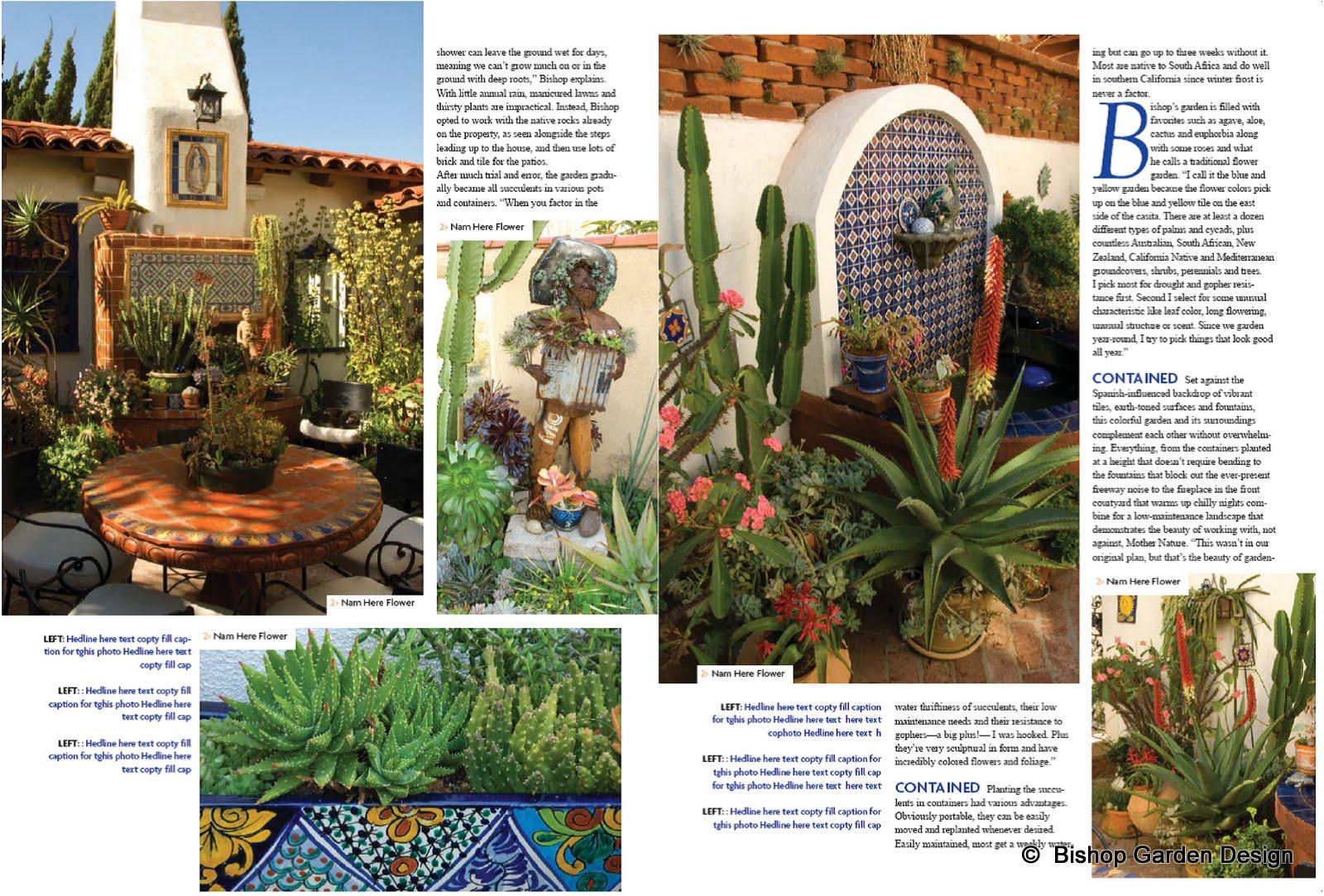 bishop garden design blog