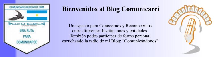 Bienvenidos al Blog Comunicarci