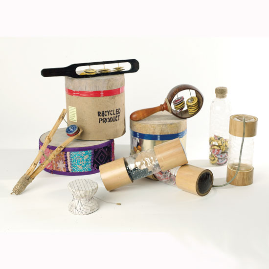 Instruments Made From Recycled Materials