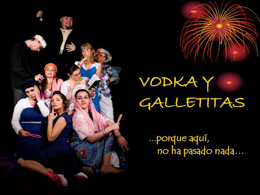 vodka y galletitas