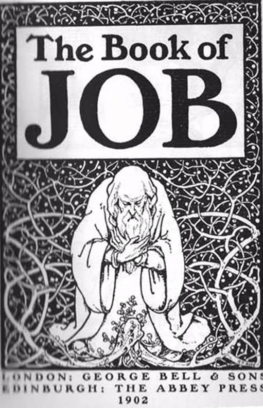 """suffering and the book of job The book of job is one of the most profound pieces of literature ever to grace human existencelittle wonder, then, that renowned novelist victor hugo once suggested that if all the world's literary efforts were to be destroyed, and he could save but a solitary sample, it would be """"job"""" in."""