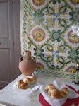 17th century tiles, B&B near Naples
