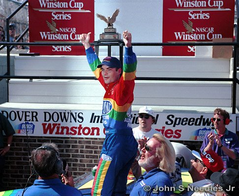 1_SPORTS_ Jeff Gordon @ Dover Downs