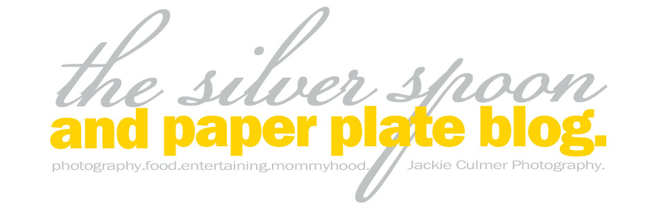 Silver Spoon and Paper Plate Blog
