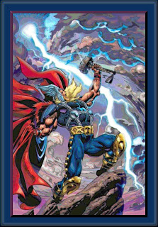 The pagan Norse god, Thor.