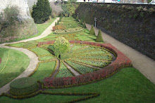 The garden at Le Chateau Angers, FR