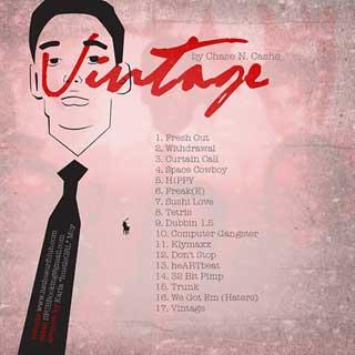 chase n cashe - vintage back cover