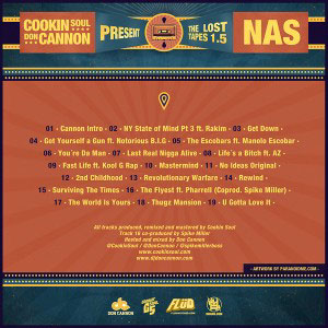 cookin soul and don cannon nas the lost tapes 1.5