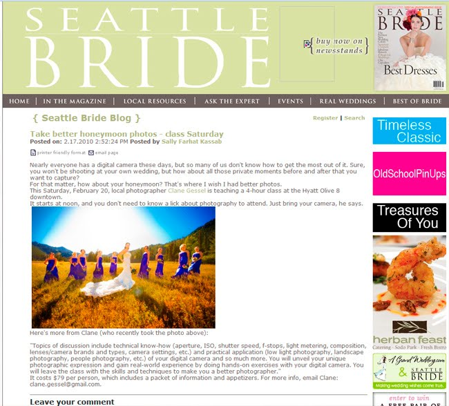 seattle bride magazine blog