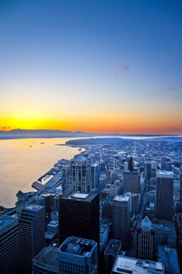 Elliot Bay from the Columbia Center