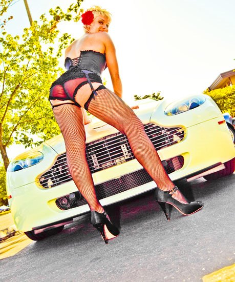 seattle hot rod pinup girl photography