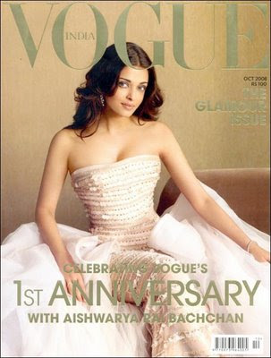 Photo of Aishwarya Rai in Vogue Magazine