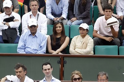 Photos of Aishwarya Rai in french open IV