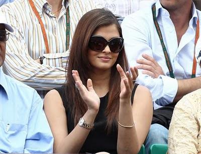 Photos of Aishwarya Rai in french open VI