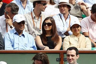 Photos of Aishwarya Rai in french open V